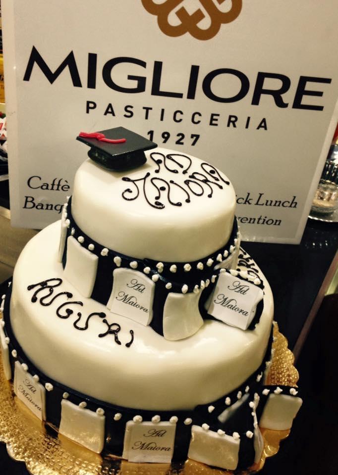 Cake Design laurea (Pasticceria Migliore)
