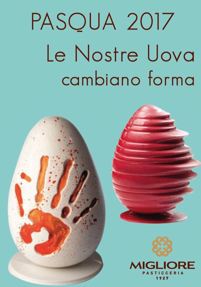 Uova di Pasqua - Pasticceria Migliore 1927
