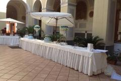 Banqueting all'esterno (Pasticceria Migliore)